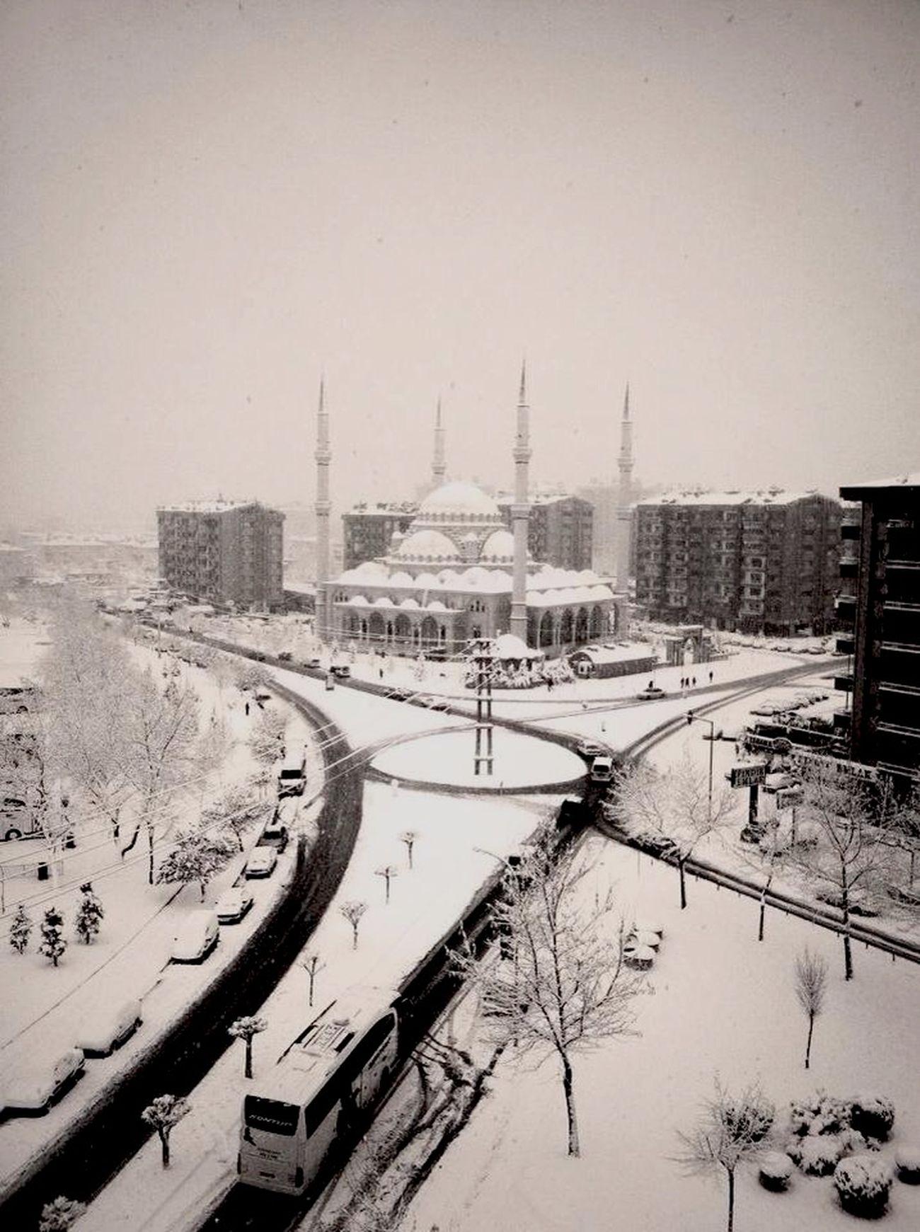 Memleket de kar yağışı :) winter caming ;)