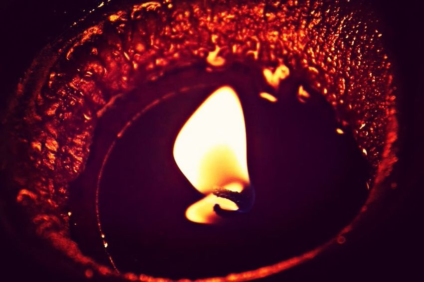 Candle Fire Red Photography
