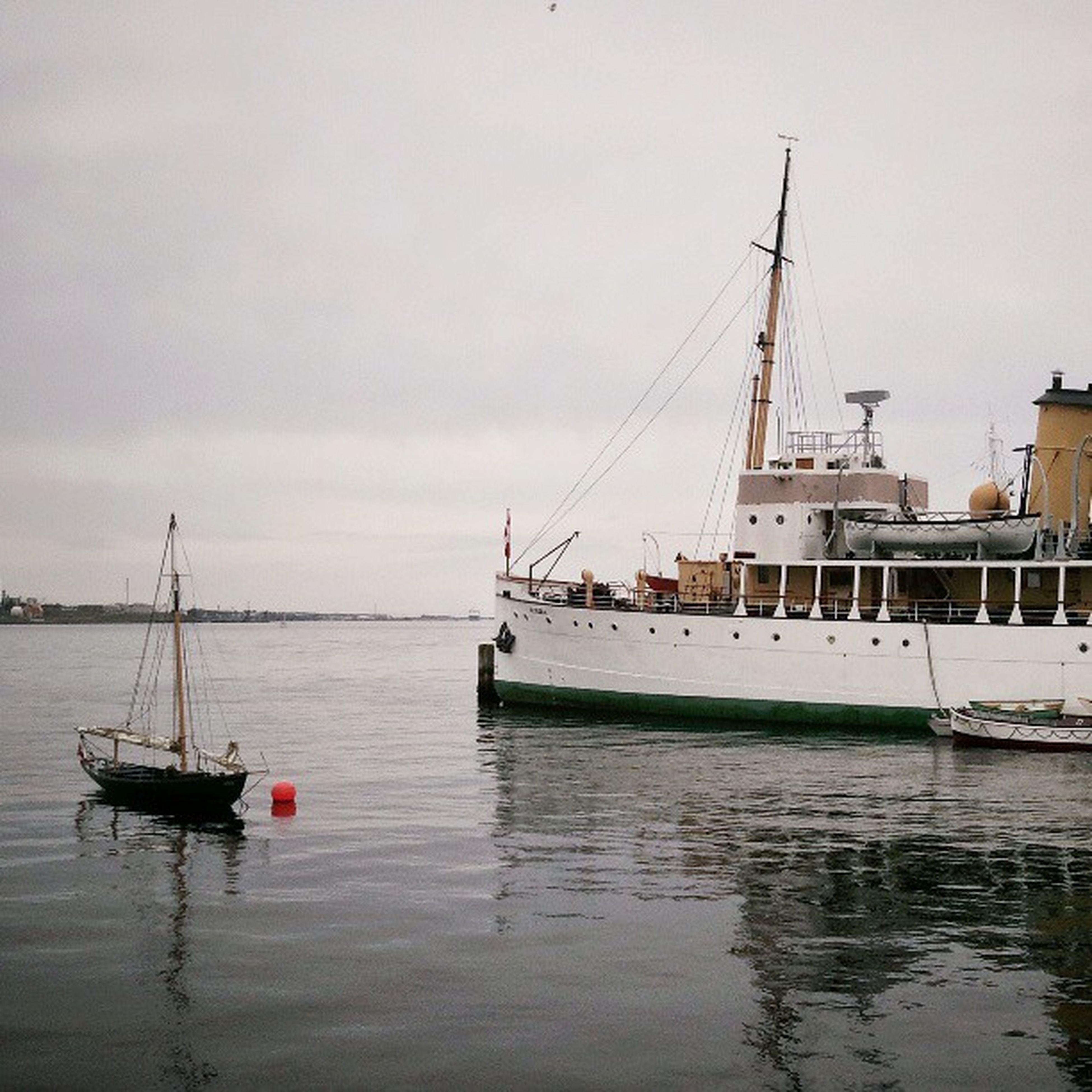 CSS Acadia and a Gaffrig Digny in Halifax harbour. CSSAcadia100 visitnovascotia NovaScotia igersottawa