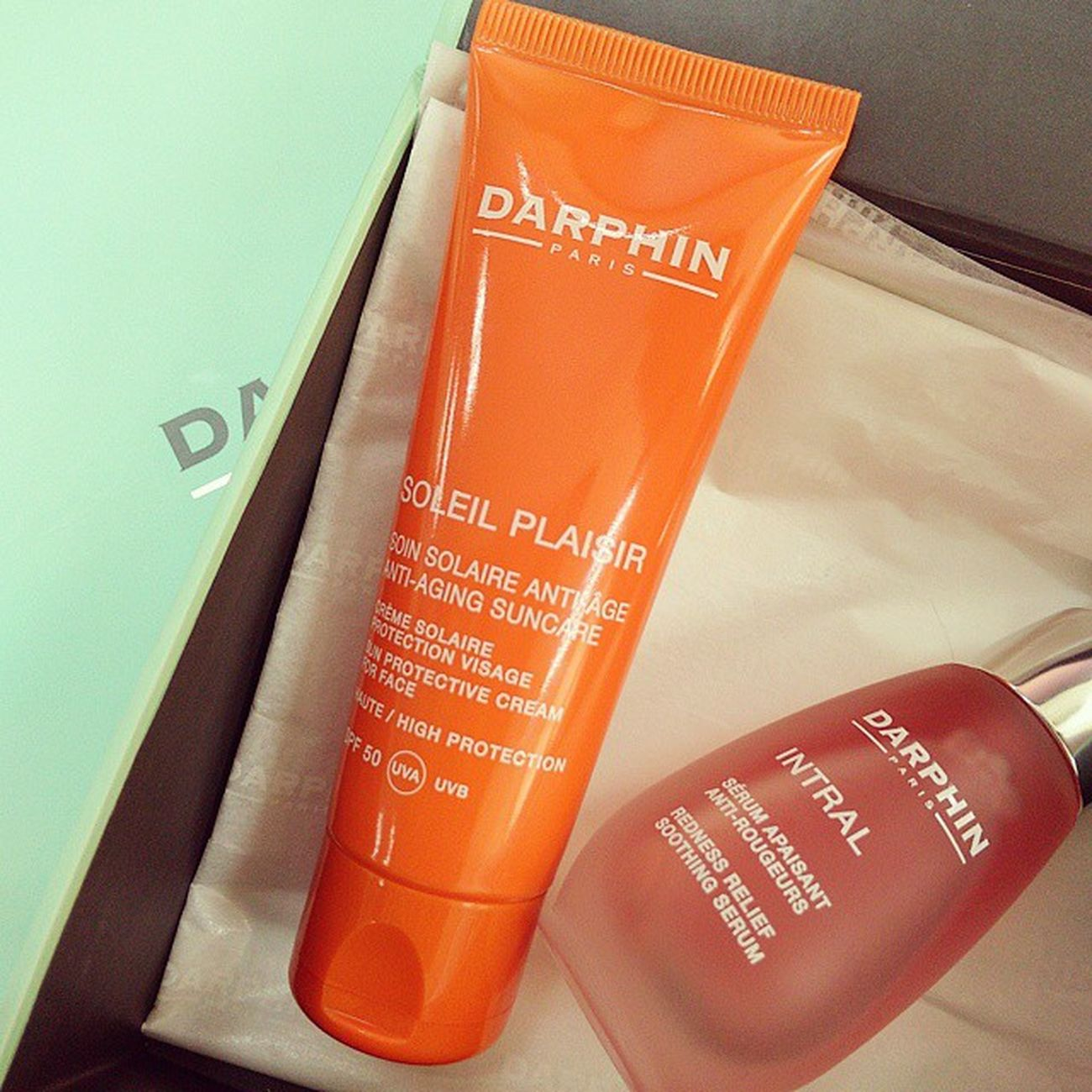 Darphin 歡愉豔陽清爽防曬隔離霜Darphin Sun Protective Cream for Face SPF 50 Darphin Sunprotection Skincare Twig Mobile01 愛曼達