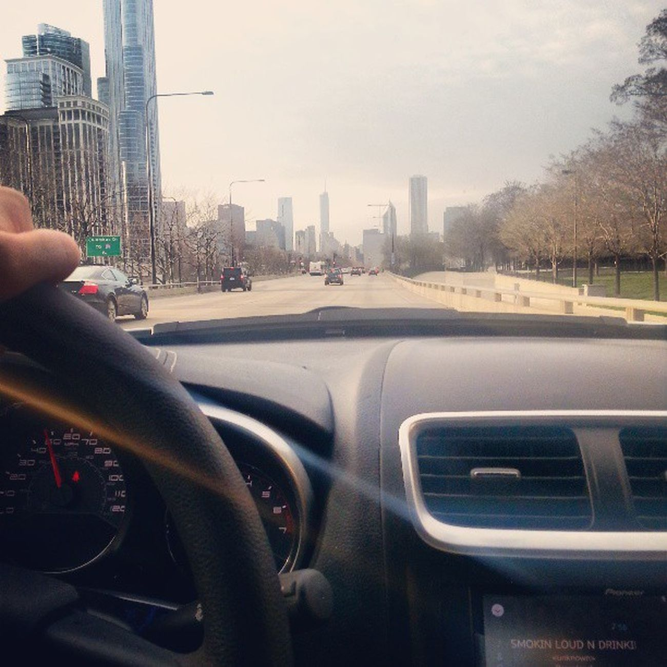 Ridin down Lakeshore banging my new single prod by @pyrothespaceboy Chicago ForNoReasonTheMixtape drops May 15th
