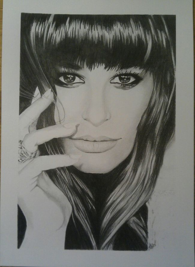 Art Portrait Drawing ArtWork My Drawing Glee DarcArt
