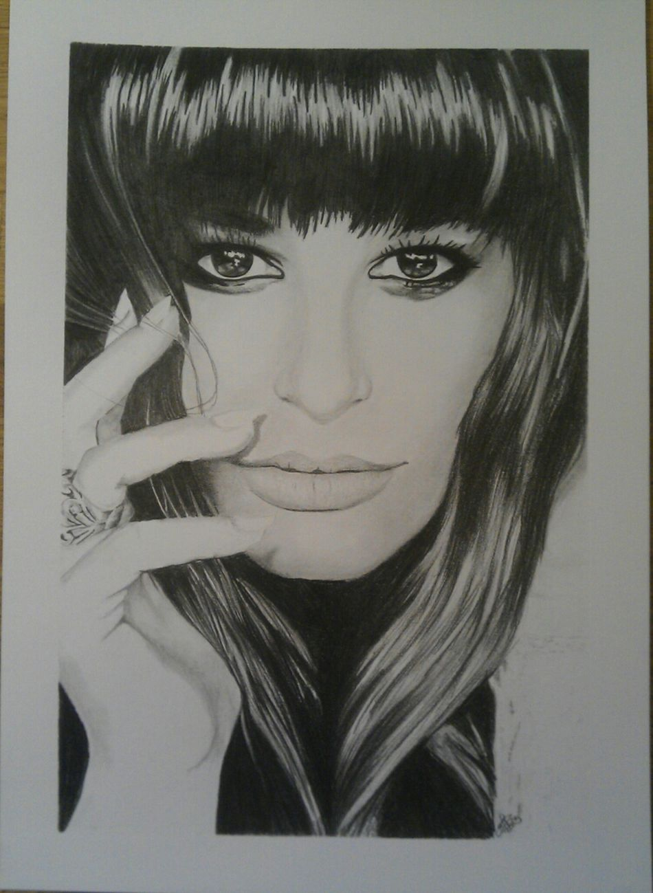 Art Portrait Drawing ArtWork My Drawing Glee DarcArt