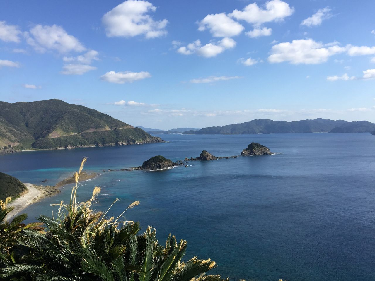 Mountain Sky Sea Nature Scenics Beauty In Nature Water Outdoors Day Landscape No People Smallisland Tinyisland Islands Kagoshima Amami Island