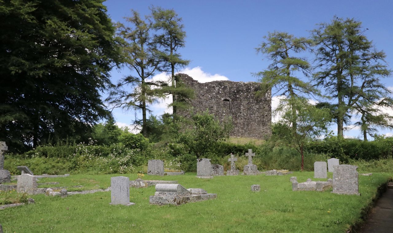 #lydford Castle Ancient Architecture Built Structure Cemetery Day Grass Grave Gravestone Graveyard History Memorial Nature No People Old Ruin Outdoors Sky Stone Material The Past Tombstone Tree