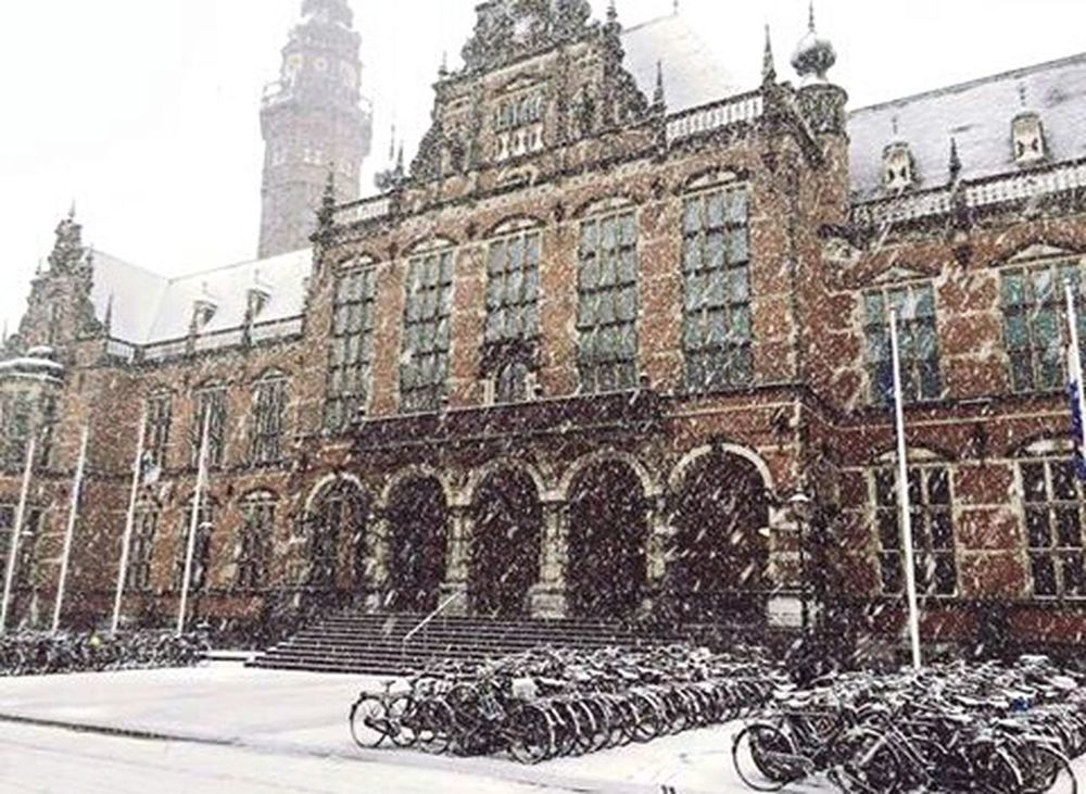 Winteriscoming Goodmorning Letitsnow Lookslikehogwarts Netherland Architecture City Coldness Christmastime