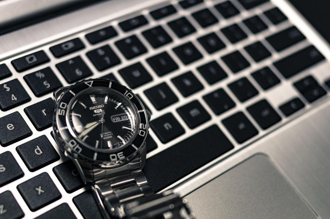 Clock Clock Face PC Seiko Seiko5 Seikowatch Watch Watch The Clock