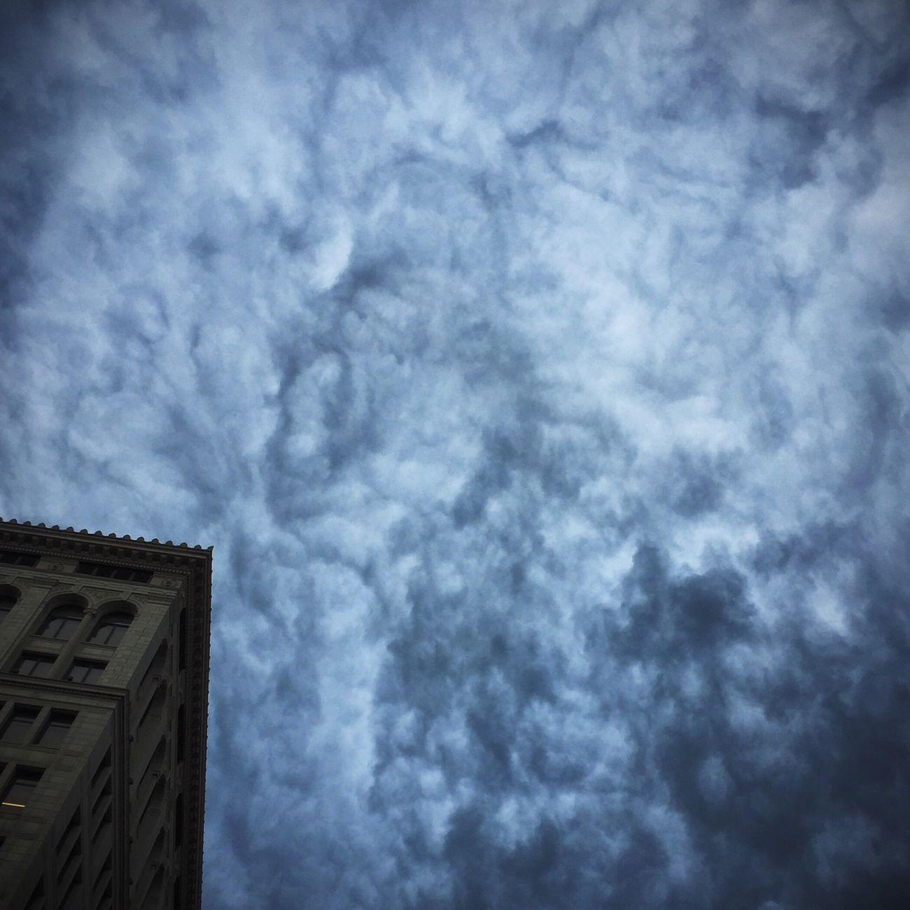 Menacing Clouds over New York City