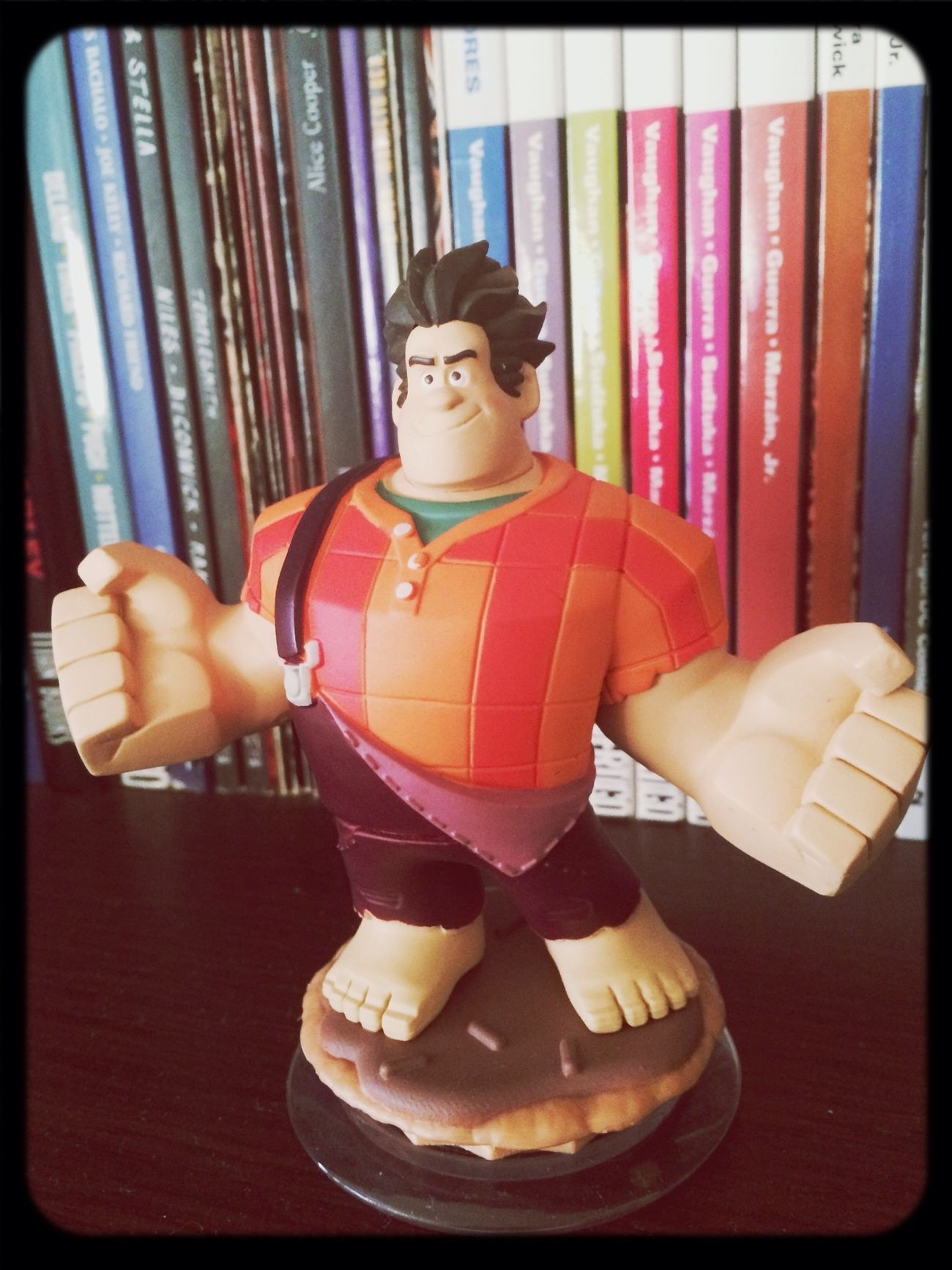 Ralf and my comic collection