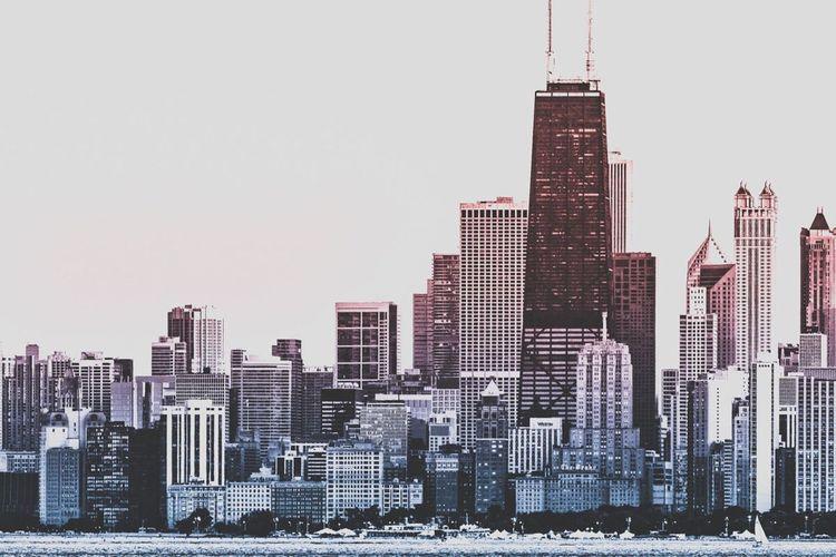 Architecture City Skyscraper Urban Skyline Chicago Chicago Architecture Chicago Skyline Chicago Downtown Chicago ♥ John Hancock Center
