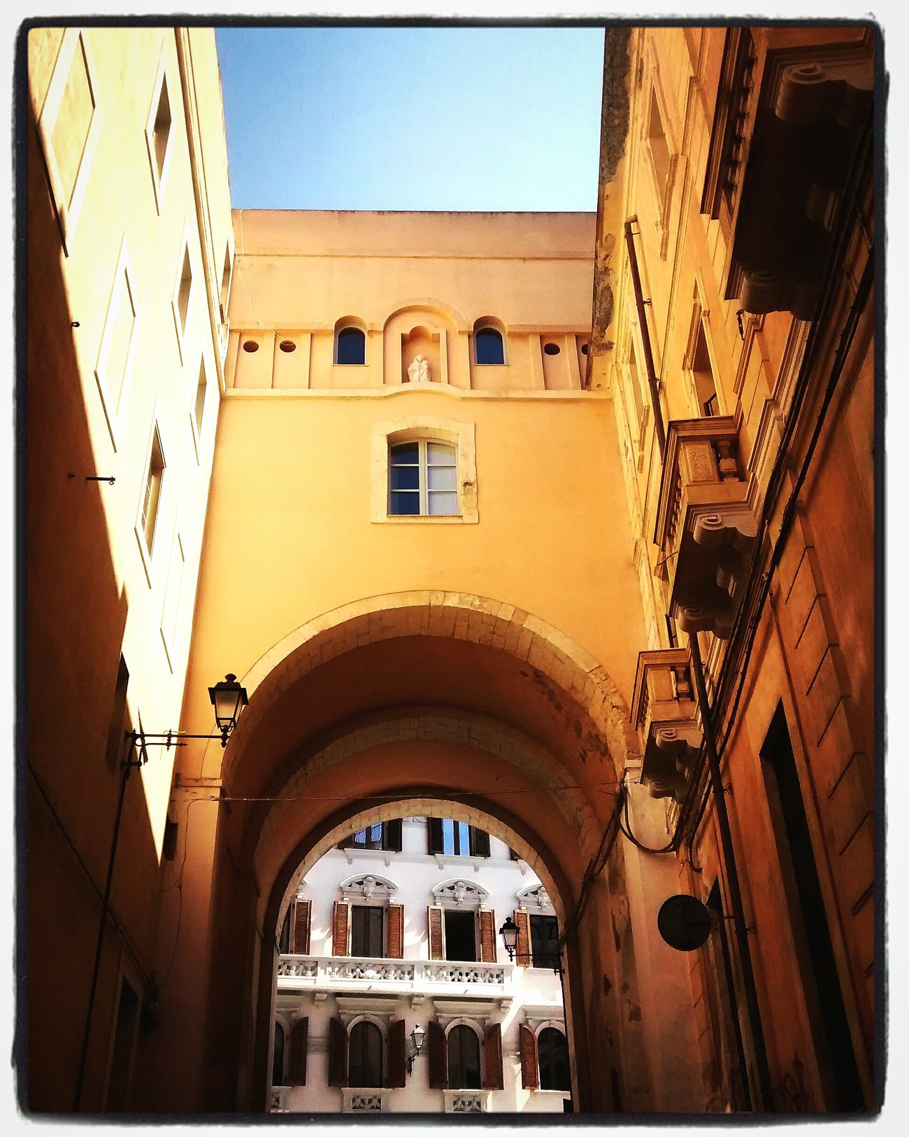 Architecture Old Town Town Cagliari Urban City From My Point Of View Summer 2016 September 2016