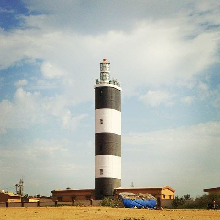 Lighthouse 💡🏠 Lighthouse Beach Landscape Travel Beauty Nature Click Photography Foreonedits Perspective India Dwarkadhish