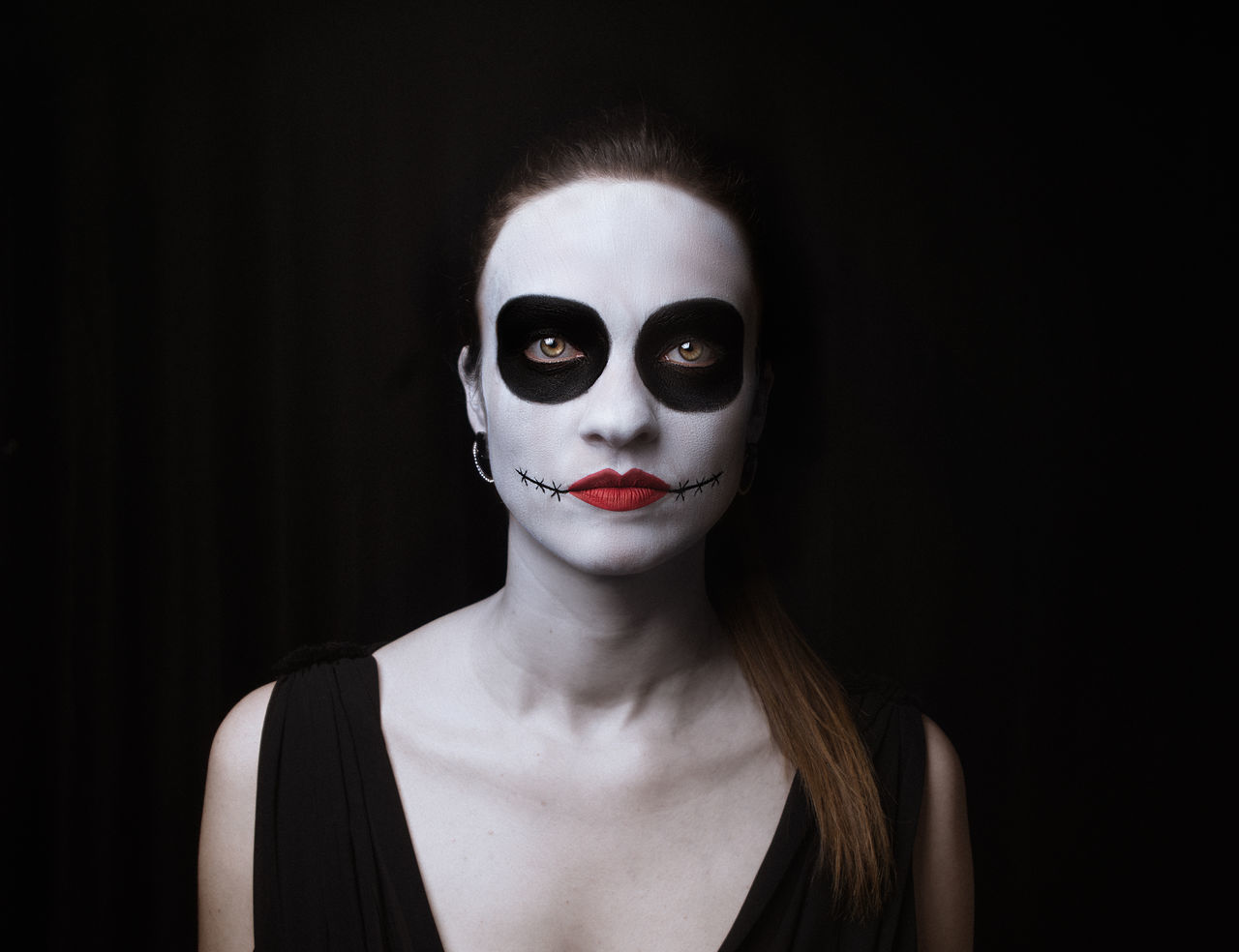 Beautiful stock photos of totenkopf,  30-34 Years,  Adult,  Adults Only,  Black Background