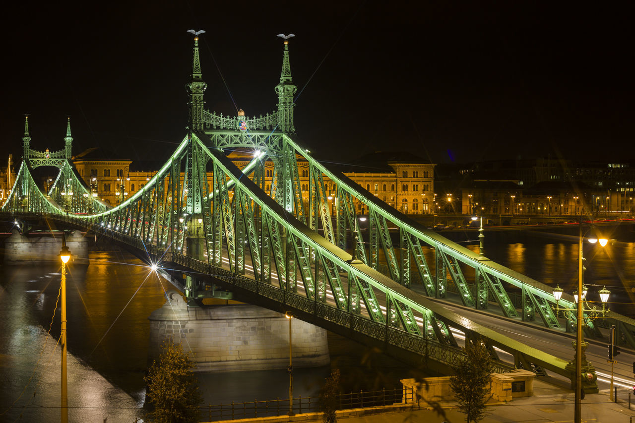 Beautiful stock photos of budapest, Architecture, Bridge - Man Made Structure, Built Structure, Connection