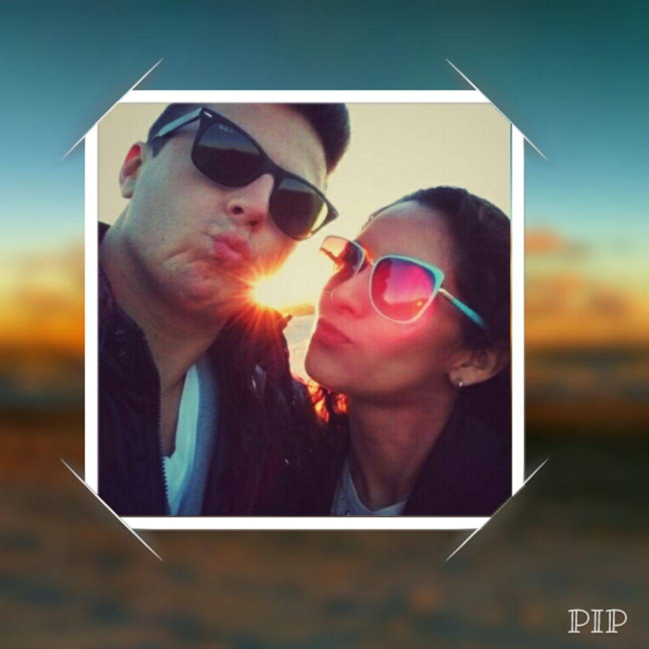 Kissing the sun goodbye Sunset_collection Beach Sunsets Romance Night Enjoying The Sun