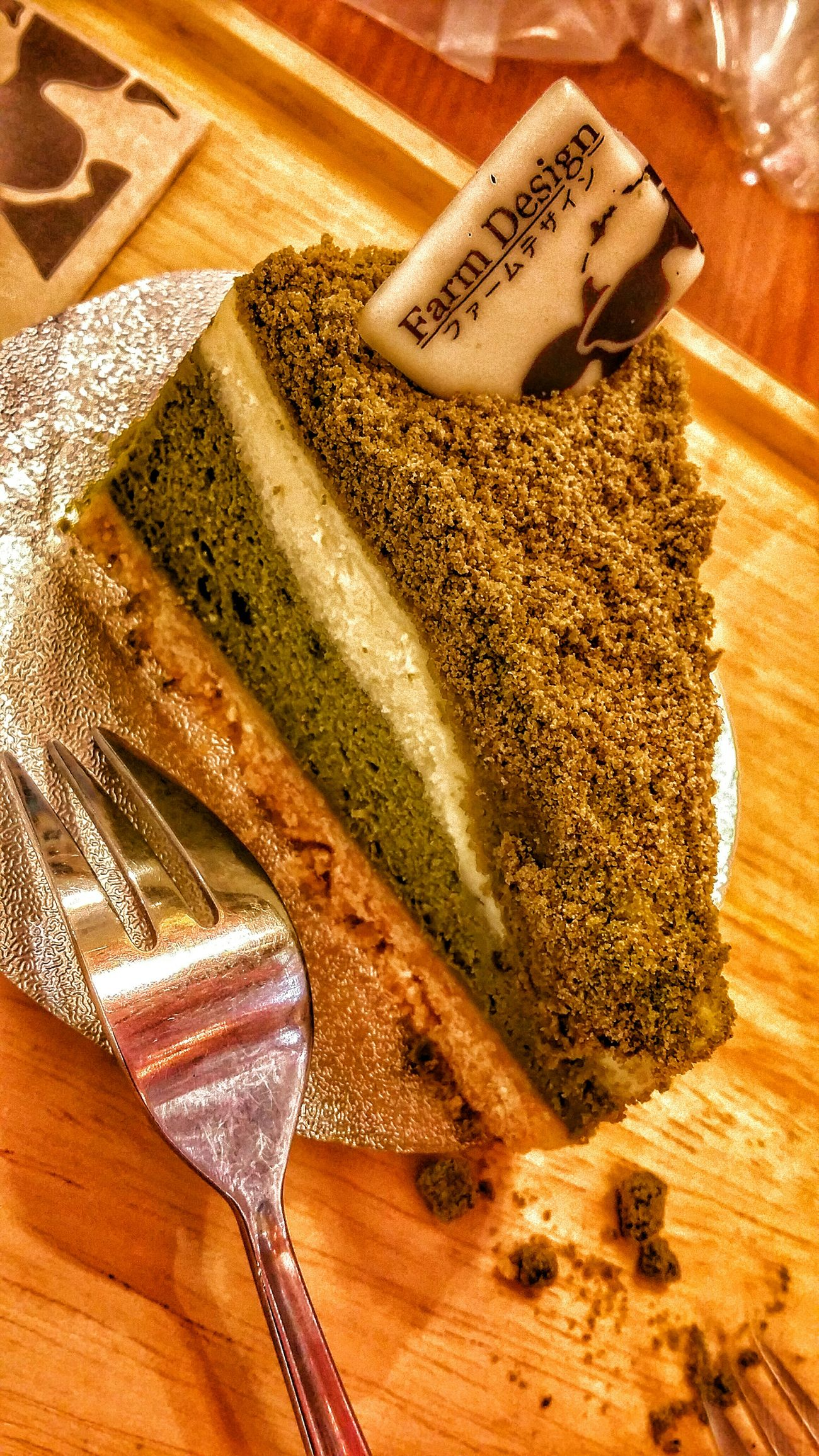 Greentea cake Farmdesign Centralplaza Central Ladprao
