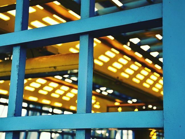 Structure Light Light And Shadow Shadow Yellow Blue SunsLight