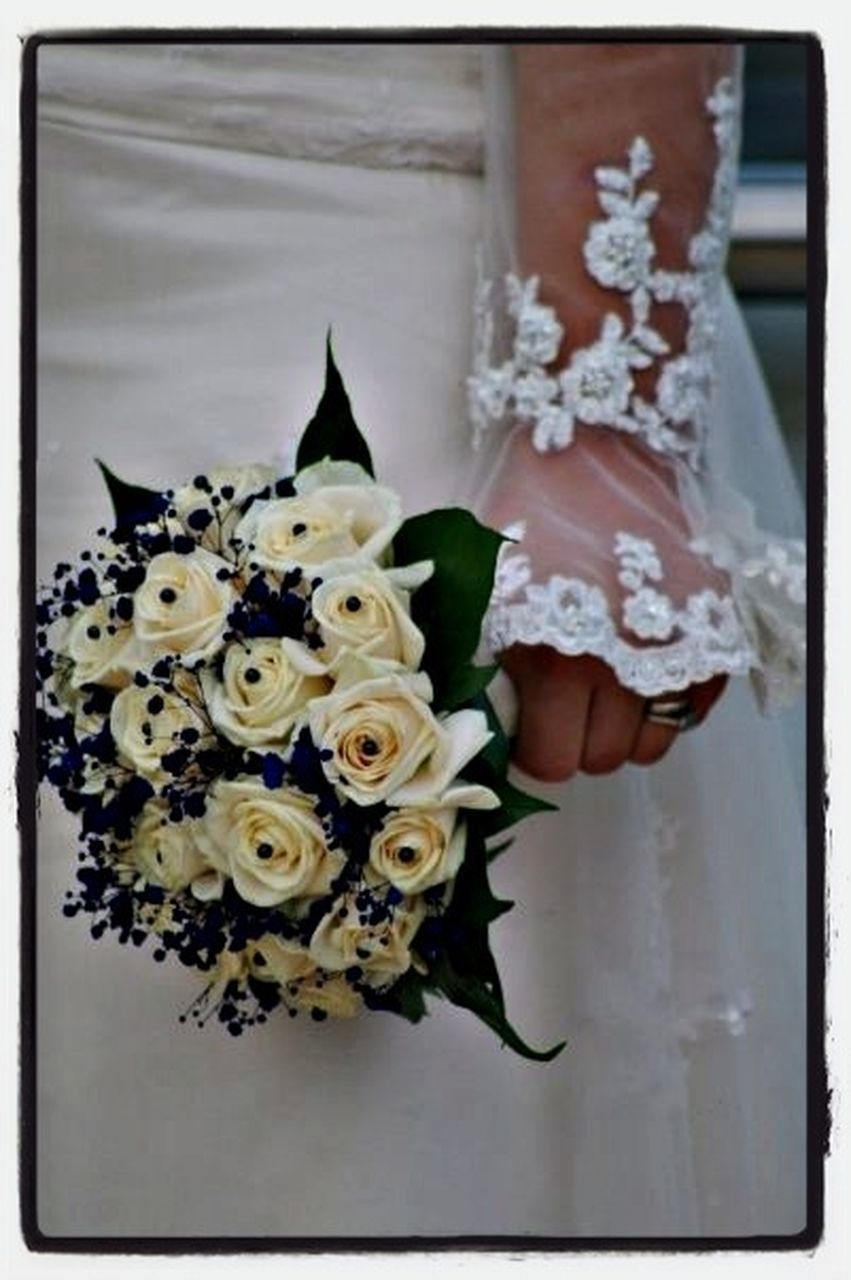 flower, celebration, wedding, no people, indoors, bouquet, close-up, fragility, day, wedding dress, animal themes