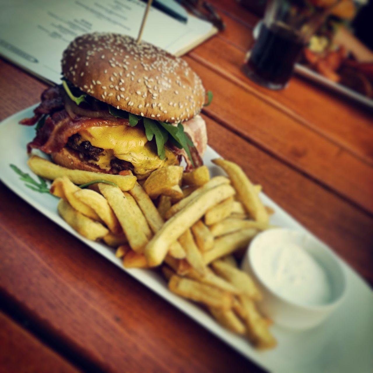 Hamburger Burger Burgerkiez Weberei Frenchfries Foodporn