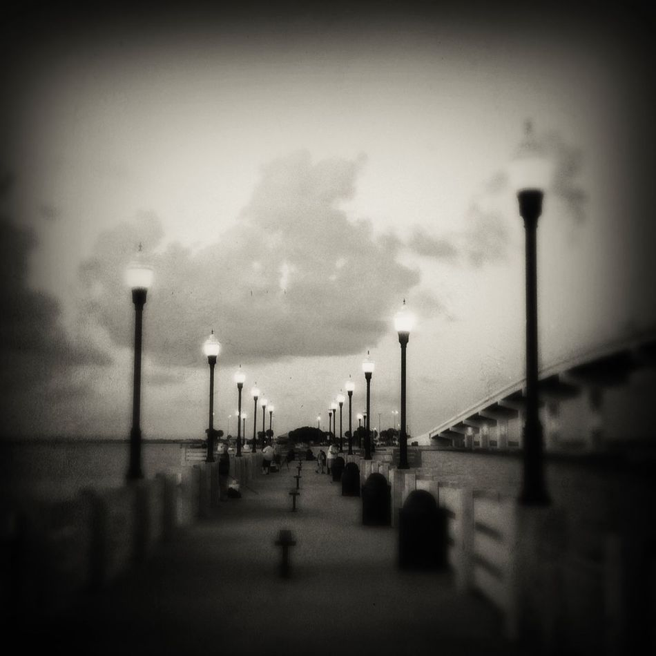 🎣 Blackandwhite Pier Hipstamatic Streetphotography Capture The Moment