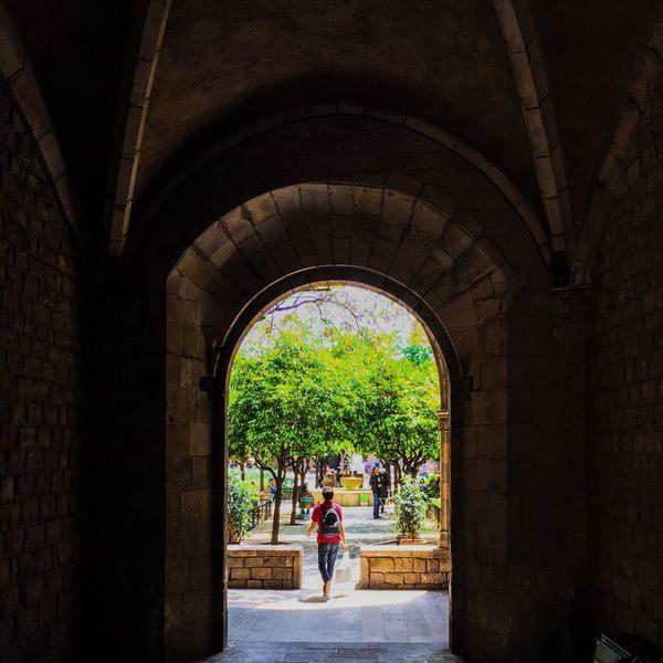 Arc El Raval Mycity Taking Photos Amazingview Springtime Streetsofbarcelona Feeling Good Hello World
