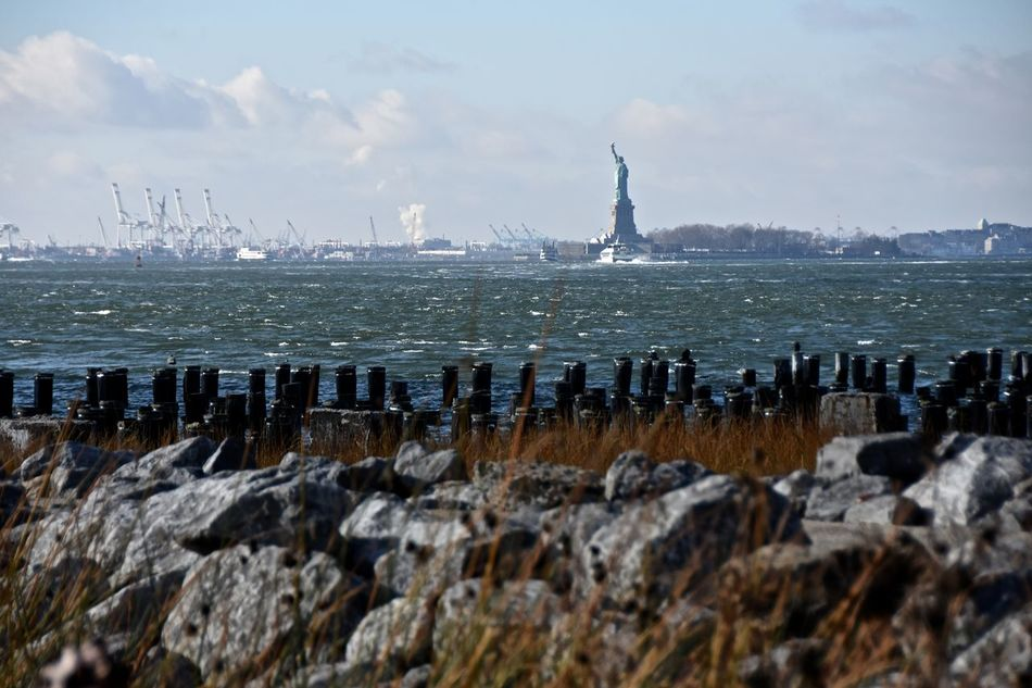 Beautiful stock photos of statue of liberty,  Beach,  Beauty In Nature,  Day,  Horizontal Image