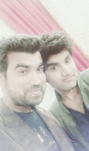 Hi! That's Me Bros Selfie✌ A Friend's Marriage Ceremony Enjoying Party