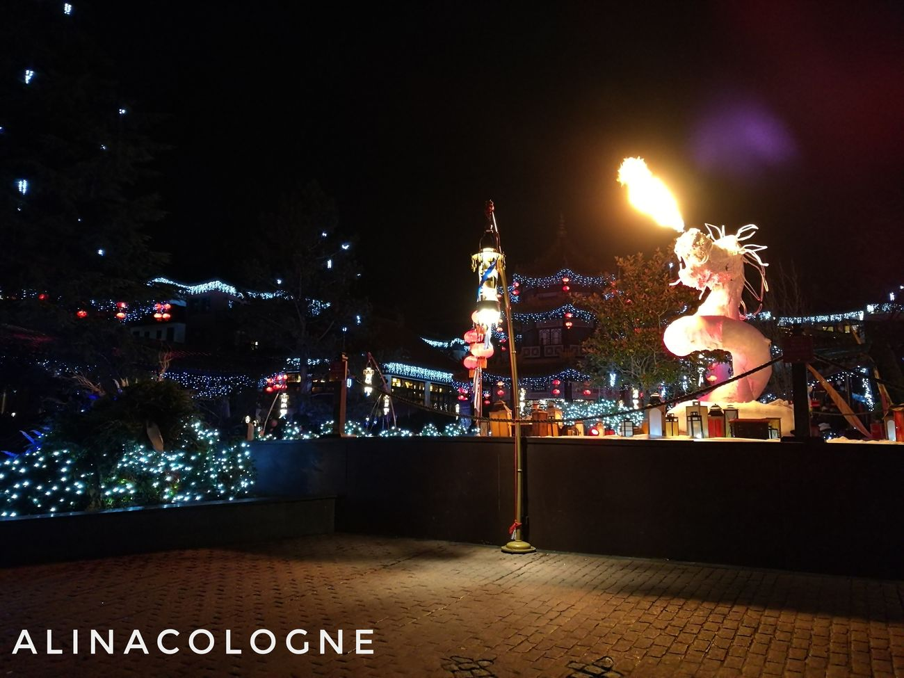 Where everything seems possible!!❤🎢🎠 Night Christmas Lights No People Sky Christmas Klugheim Rollercoaster Köln, Germany Photography Skyporn Love Secondhome Phantasialand Brühl ınstagram Freizeitpark Outdoors