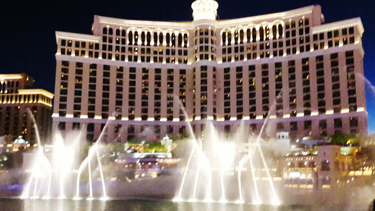 Dancing Water VEGAS🎲 Fountain EyeEm Best Shots