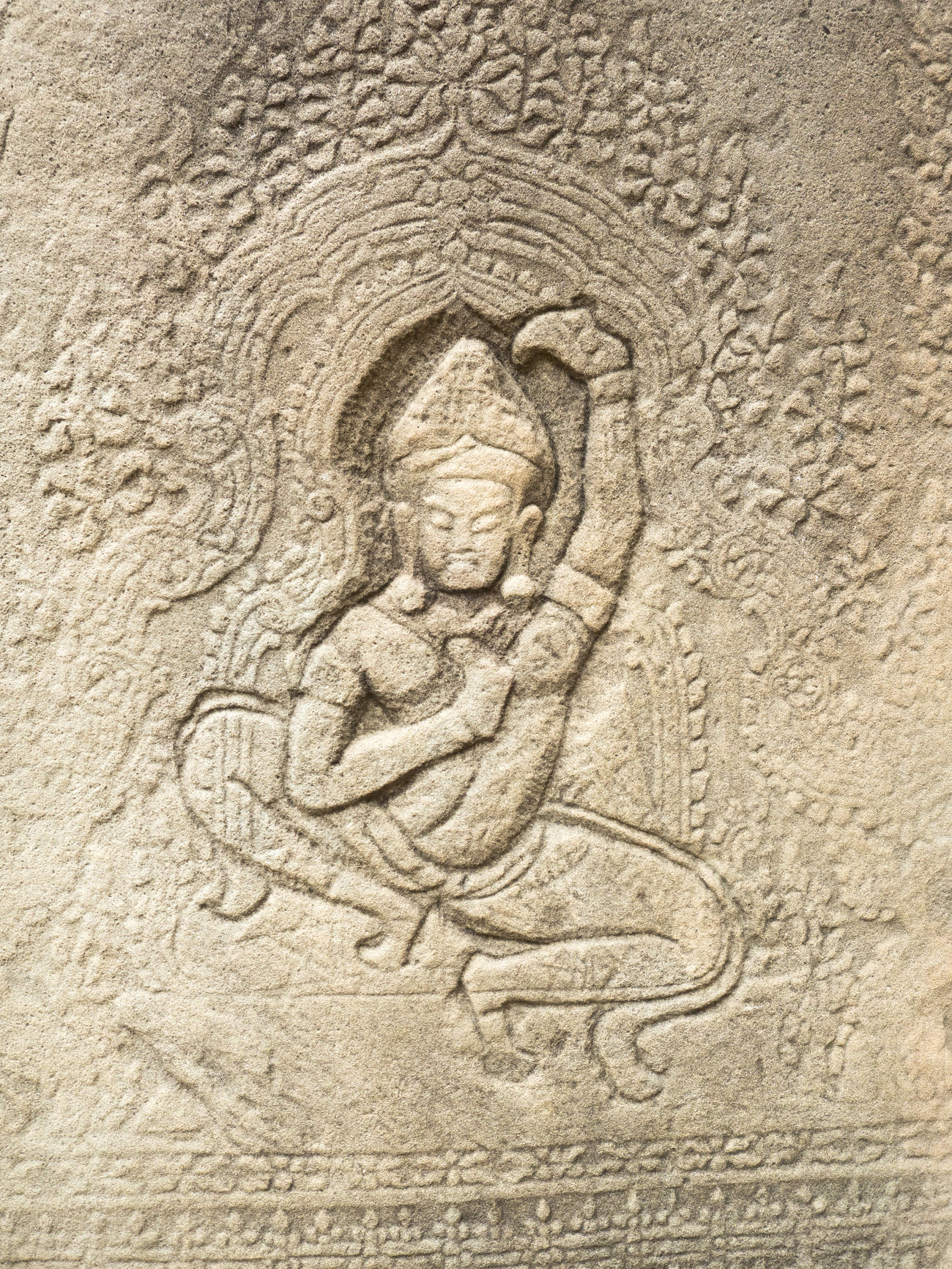 Ancient Civilization Angkor Bas Relief Cambodia Close-up Day History Human Representation No People Outdoors Relief Religion Stone Material