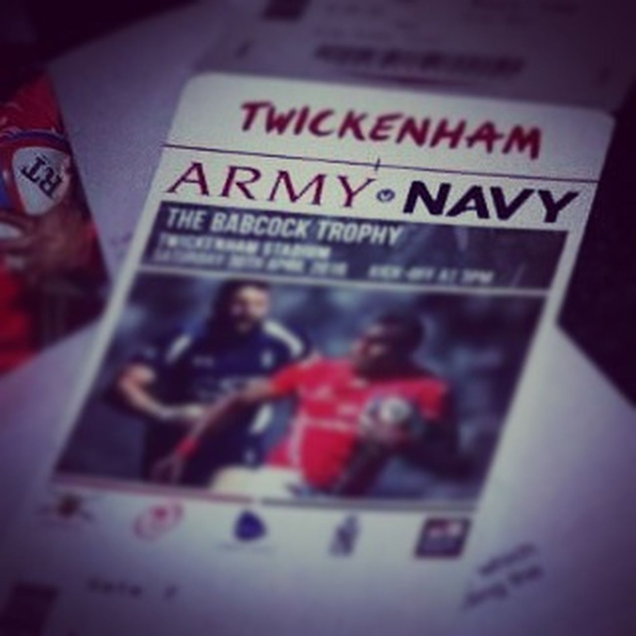 Looking forward to this. Lads weekend! ArmyVsNavy Rugby Tickets Twickenham