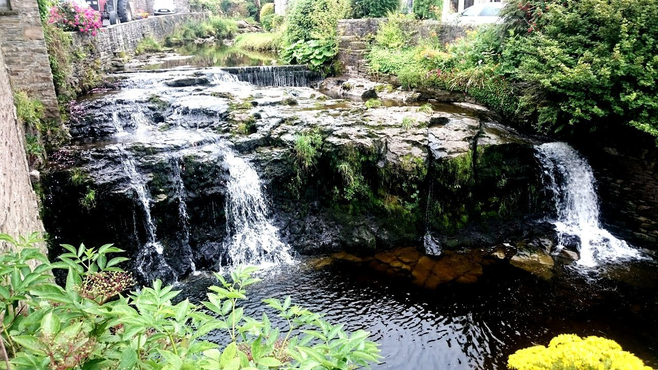Hawes Waterfall Waterfalls Stream Water Plant Day Nature Tranquility Outdoors Beauty In Nature No People Wall Rocks And Water Rocks In Water