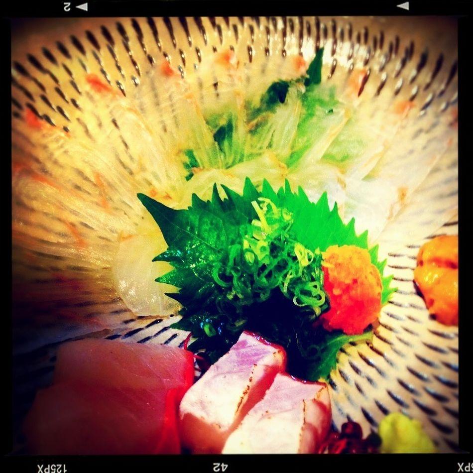 Japanese Food Fish Sashimi