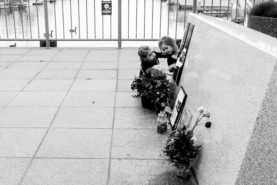 Fishermen's Memorial Black & White Street Photography