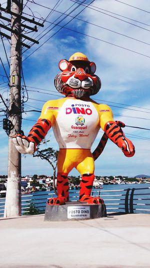 Tiger Statue Bridge Guarapari BIG Bigsmile