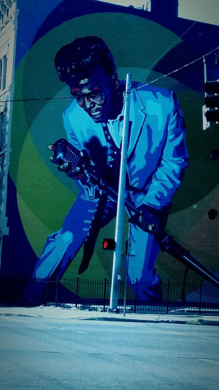 """The Changing City City Blues, """"It's a Man's World"""" James Brown, was the hardest working man in the business..."""