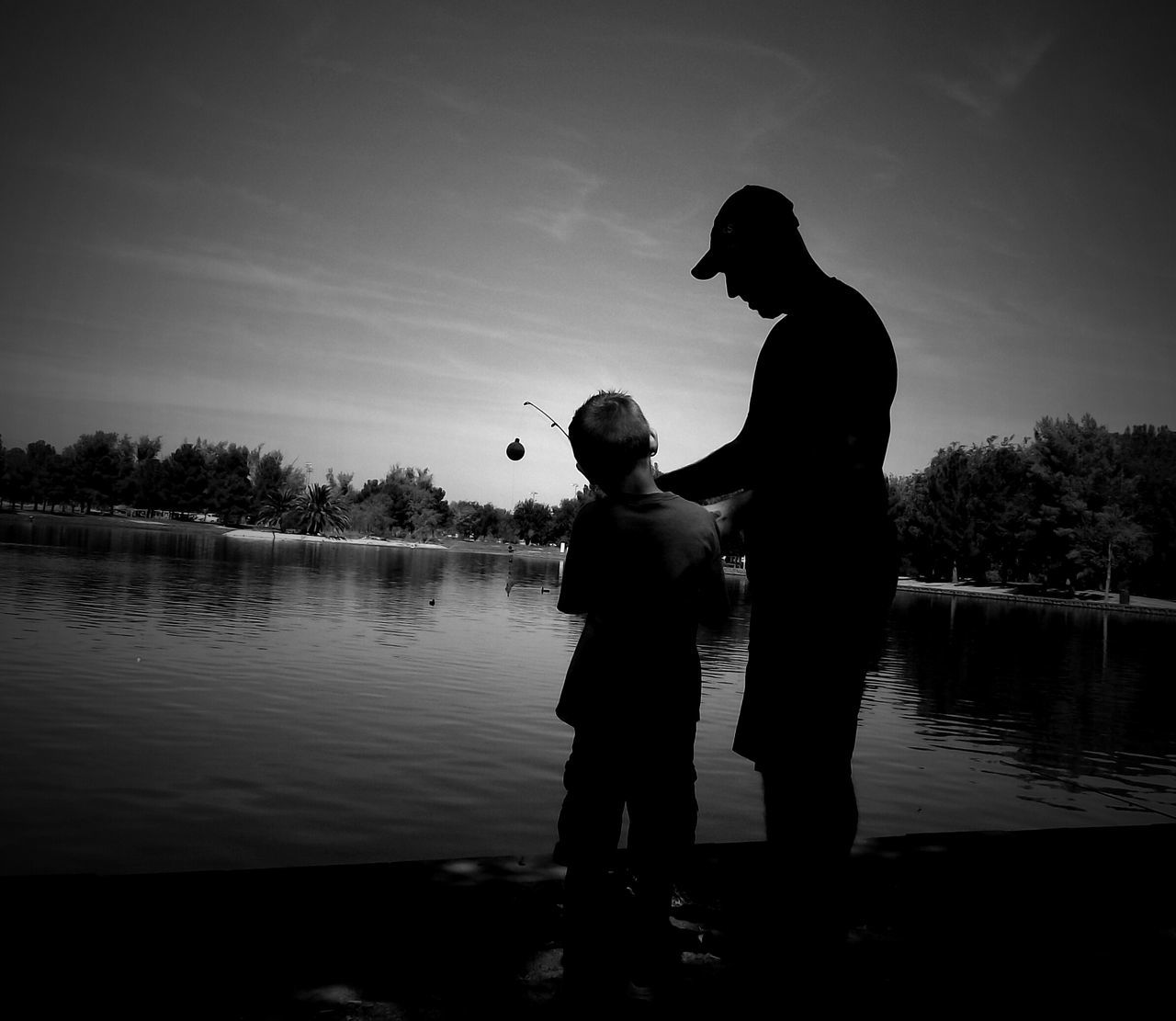 Boys Will Be Boys Fishing Father & Son Father's Day Fatherhood  Father