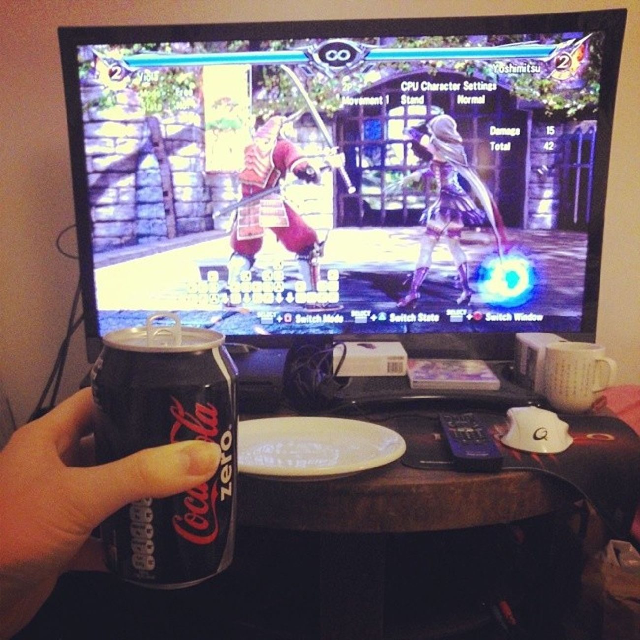 How this evening was spent.. Soulcalibur Arcade Goodlife
