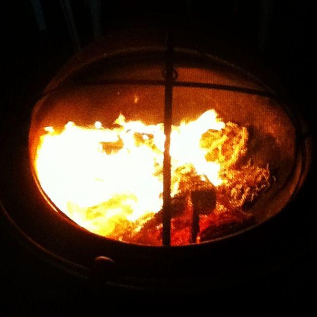 Bonfire? :) Saturdaynight Smores Baconhotdogs @_thomassss