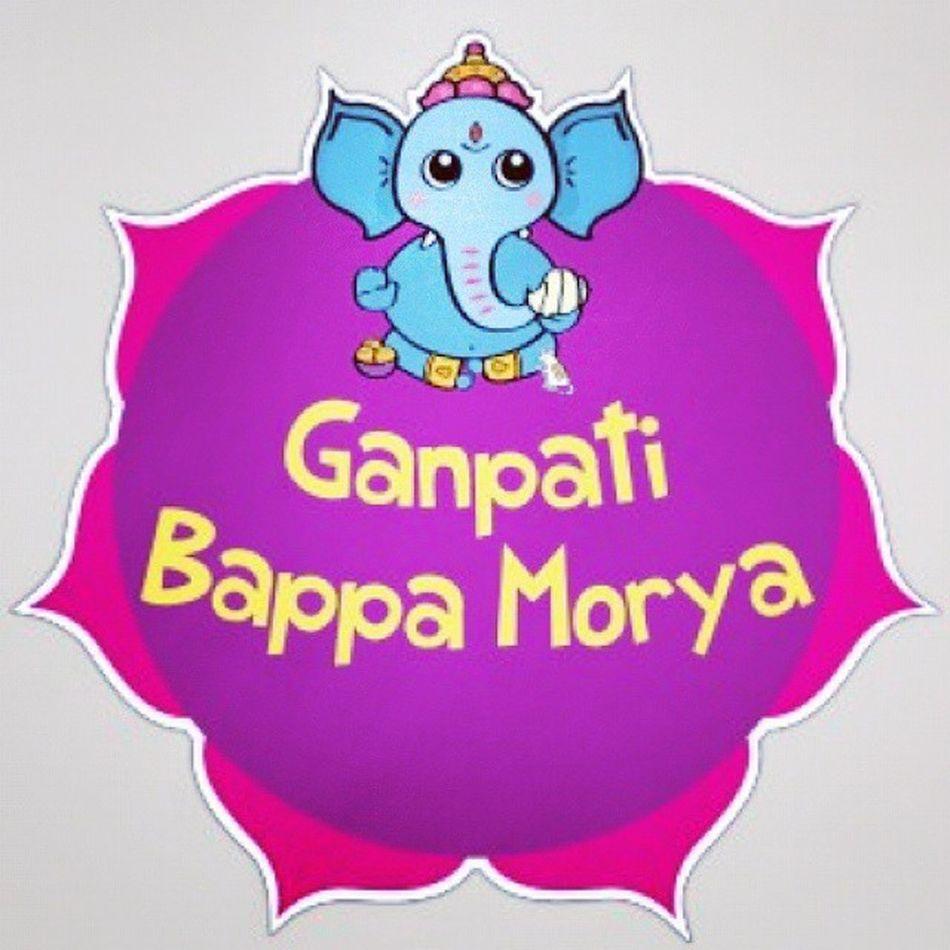 Ganapathi bappa boriya. Happyvinayagarchathurthi
