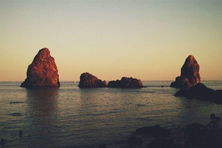 The KIOMI Collection Acitrezza  Rocks Sicily Sicilia Catania Acicastello Polifemo Sea