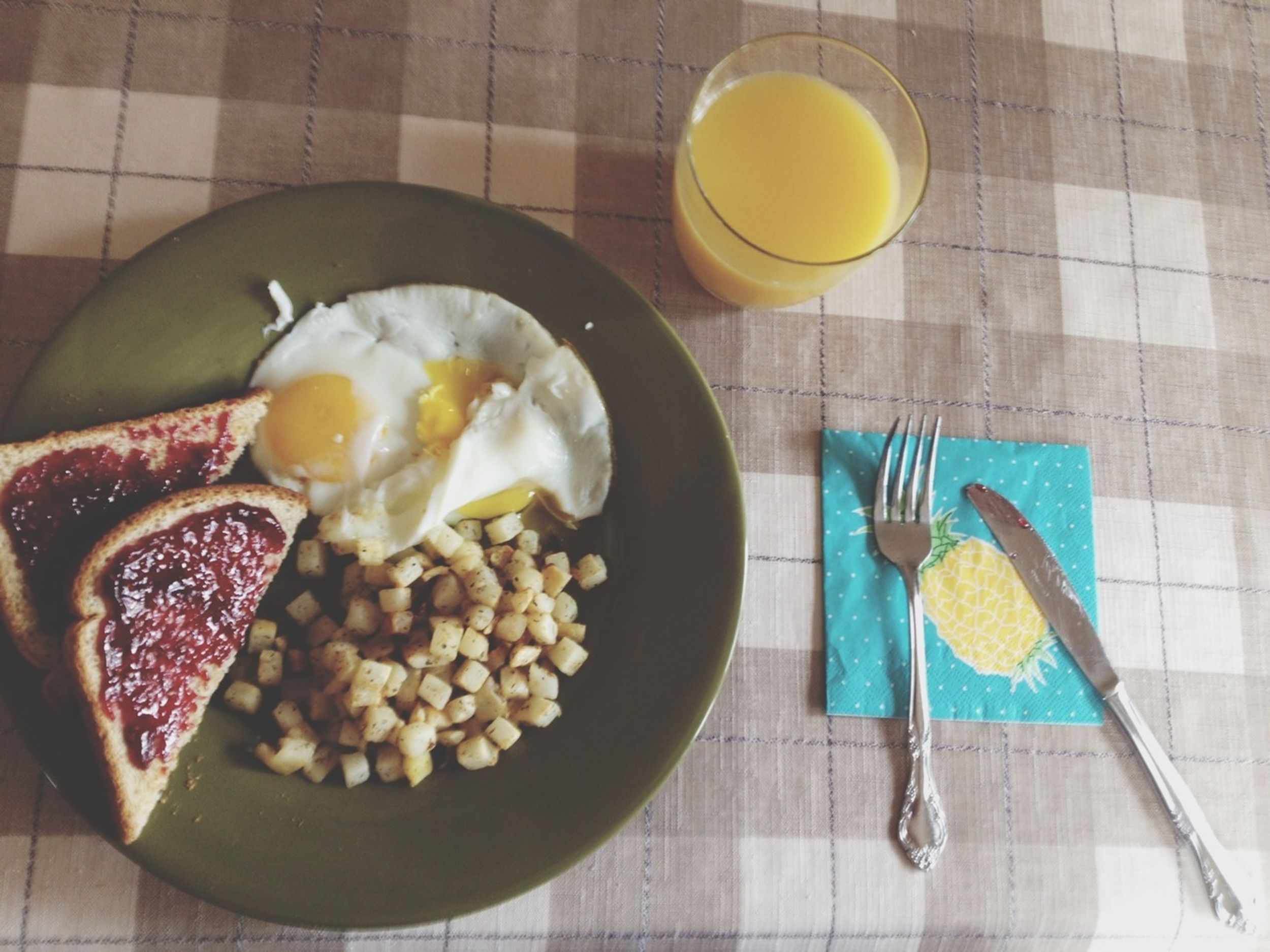 made some delicious breakfast!
