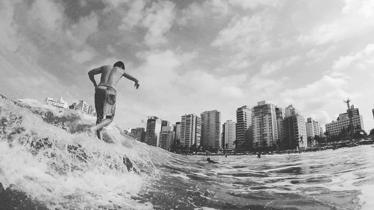 Longboard Oceanatlantic 18-030 Blue Wave Sea Surf Goprohero+lcd Gopro Mahalo Guarujá ILoveWater Surf's Up Aloha Waves Asturiasbeach Water Longboardlife Longboarding