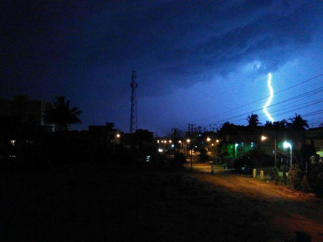 Lightingbolt Nightsky Thunderstorm Thunderstorms Thunderbolt