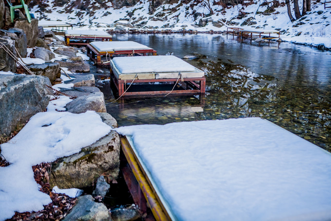 Beautiful stock photos of north korea, Boat, Chuncheon, Cold Temperature, Covered