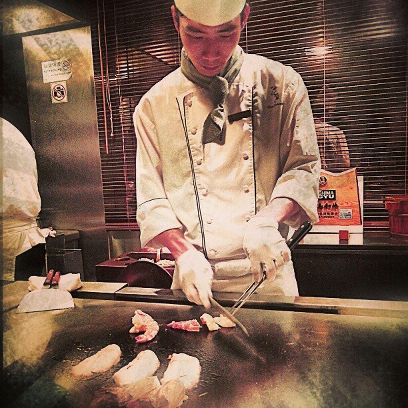 Delicious Japanese  Tenpanyaki for Christmas dinner yum foodporn HK onlyinhk HongKong