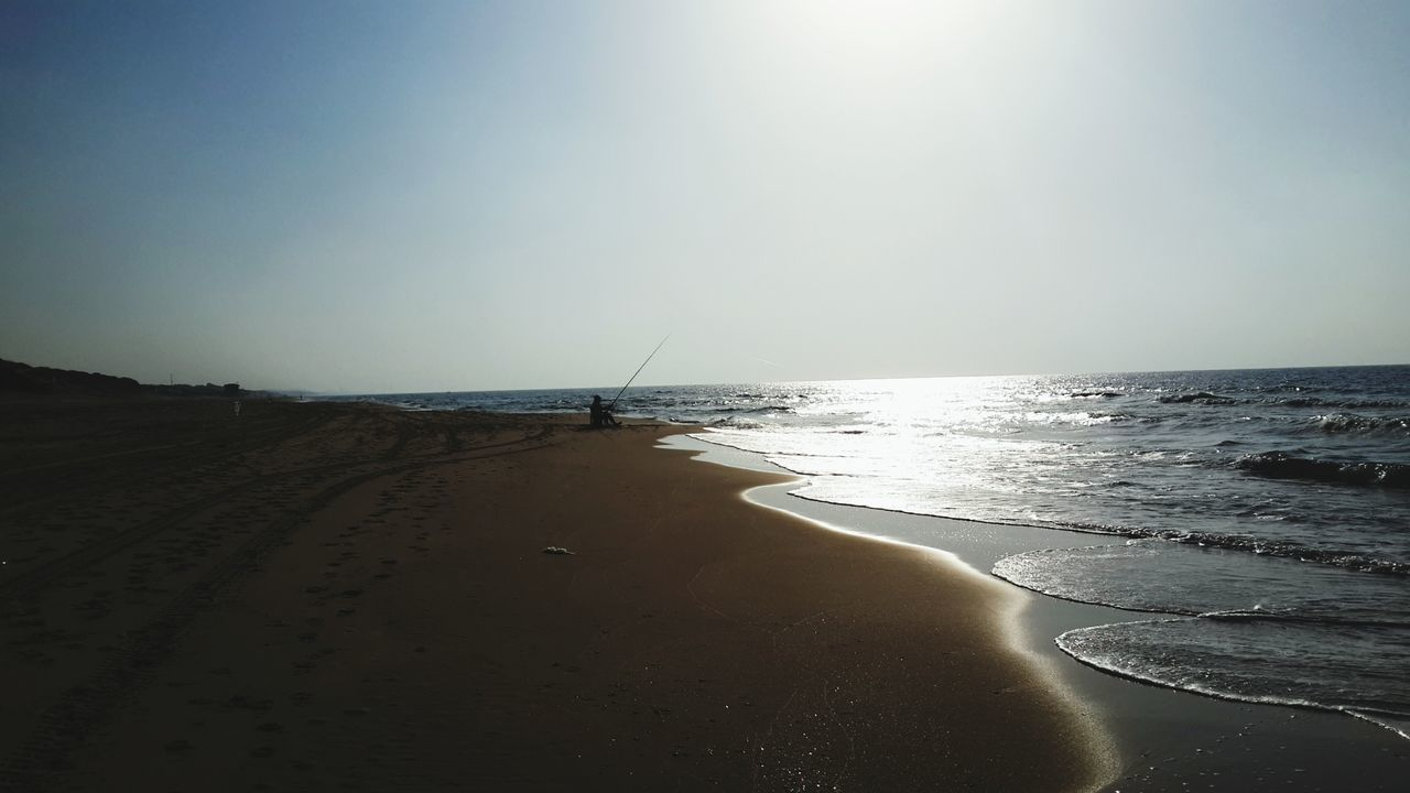 Scenics Seascape And Sandy Beach