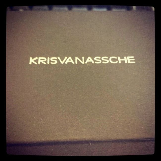 What's in the box, My Kris Van Assche opticals thats what!! NewOpticals GetOnMyFace HappyPanda LindaFarrow KrisVanAssche Igers IgersLondon LFHQ