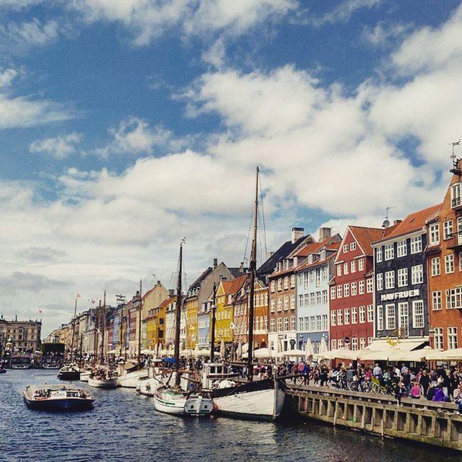 Finally arrived Nyhavn Köbenhavn Nyhavnport Copenhagen Cb_travellogs @visitcopenhagen