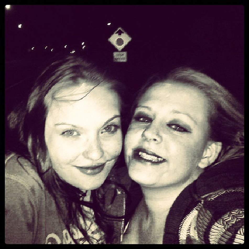KayleaEloraVictoriaJohnson! I love you with all heart! My oldest friend & biggest supporter! This pic was back in July 2010! I was barely legal , through thick & thin girl . :) Kickinitoldschool BigSister SummerNights 2010 nightwalkers iwaspregnant oldestfriend sheputsupwithallmyshenanigans streetlife nighttime missthesedays wecute ilooklikeababy
